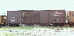 PM boxcar #72332 at the MSTRP facility in Owosso, MI