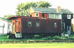 PM Caboose #A811 in Navarre, Ohio - Click here for a larger picture.