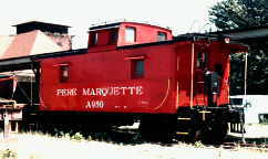 PM Caboose #A950 at Muskegon, MI